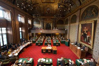 Rondleiding Binnenhof en Tweede kamer