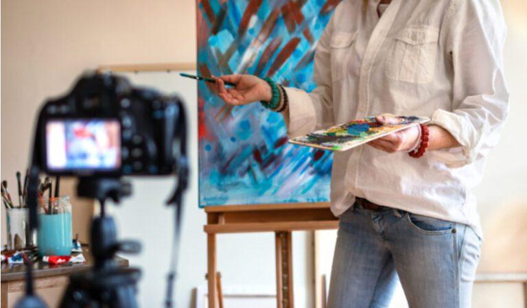 Online Workshop Dikke Dames Schilderen
