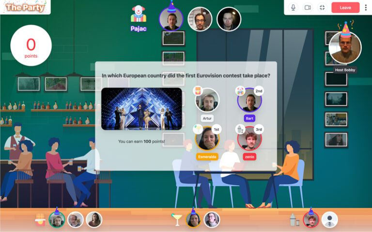 Online Quiz The Party