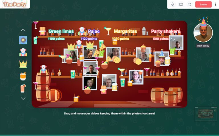 Online Game The Party