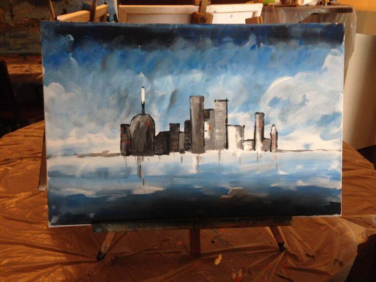 Workshop Skyline Schilderen
